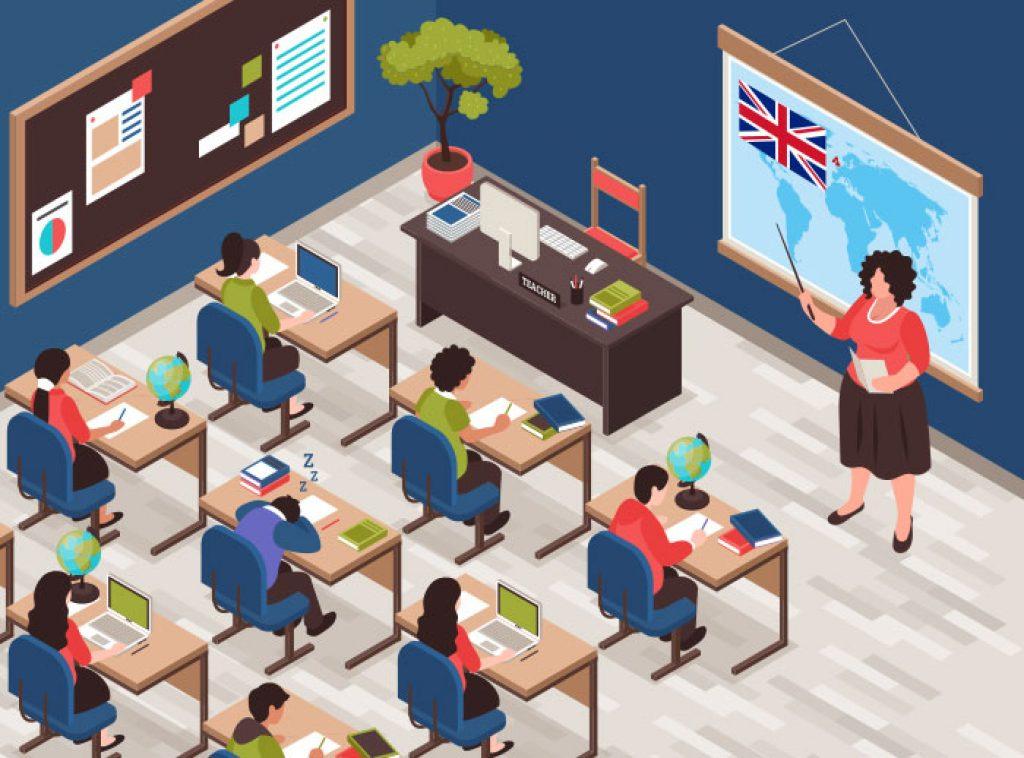 Inglese imparato sui banchi di scuola