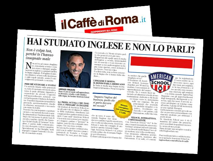 Il Caffè di Roma Articolo inglesefast
