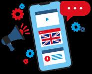 App di inglese per lo smartphone
