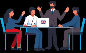 Lezioni di gruppo presso scuole di lingue