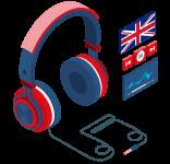 Riviste e audiocorsi inglese in edicola